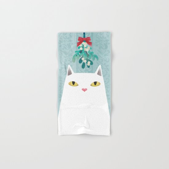 Mistletoe? Hand & Bath Towel