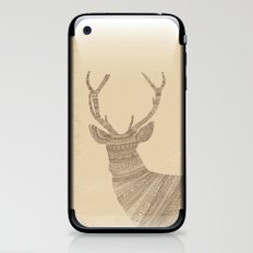Stag / Deer (On Paper) iPhone & iPod Skin