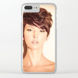 5647 Natasha Au Naturel - Boudoir Eros Studio Beauty Nude Clear iPhone Case