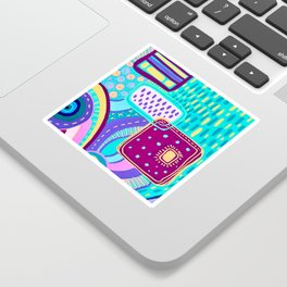 Pop Abstract Sticker