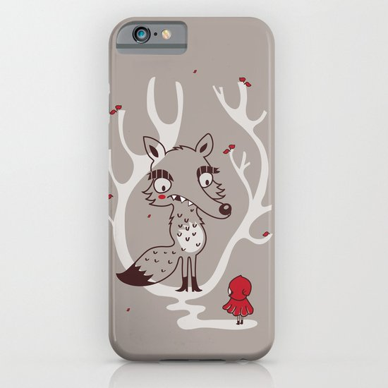 Hello big wolf iPhone & iPod Case