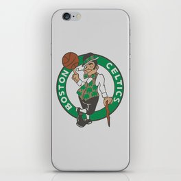 Boston Celstics Logo iPhone Skin