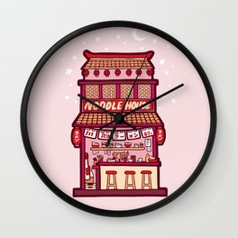 Noodle House Wall Clock