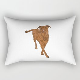 Dog Portrait 2 Rectangular Pillow