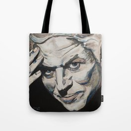 Might As Well Face It - Robert Palmer Portrait Tote Bag