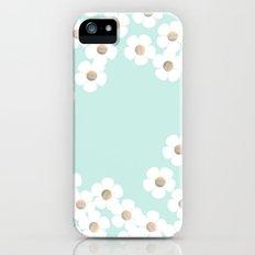 DAISY RAIN MINT Slim Case iPhone (5, 5s)