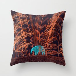 Elephant's dream Throw Pillow
