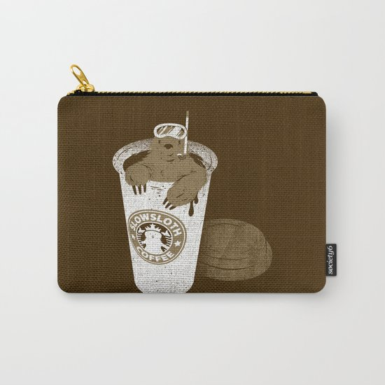 SlowSloth Coffee Dive Carry-All Pouch