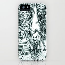 Sub-dimensional Passage to God iPhone Case