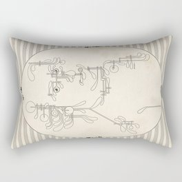 Custom made Mozart Rectangular Pillow