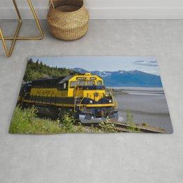 5298 - Alaska Passenger Train Rug