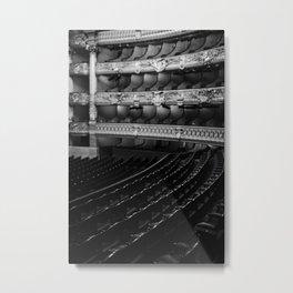 The Opera Seat Metal Print