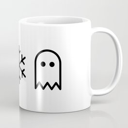 Paper, Snow, A Ghost. Coffee Mug