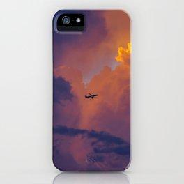 Glowing Escape iPhone Case