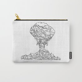 Mushroom Bloom Carry-All Pouch