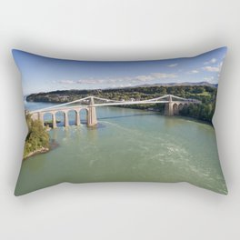 Menai bridge 1 Rectangular Pillow
