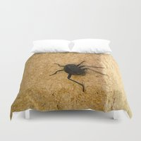 beetle Duvet Covers featuring Beetle by KMZphoto