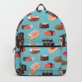 Doughnut Like Sushi Backpack