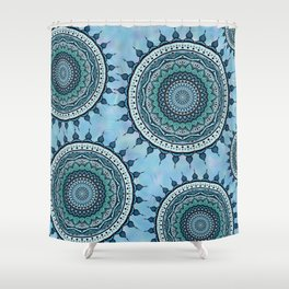 Mandala Tranquillità Shower Curtain