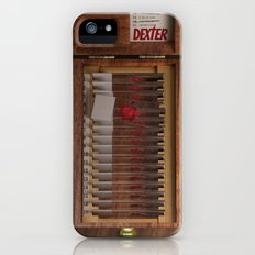 I-Dex Dexter Blood slide Iphone case... iPhone (5, 5s) Slim Case