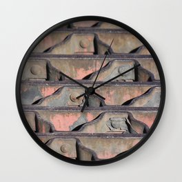 Grate Curves Wall Clock