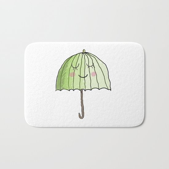 cute UMBRELLA Bath Mat