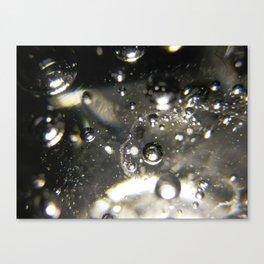 Bubbles and Light Canvas Print