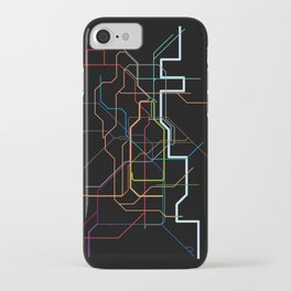 London Tube Map iPhone Case