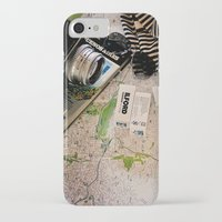 vintage map iPhone & iPod Cases featuring Map by Carmen Moreno Photography