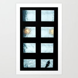 Ceiling pool Art Print