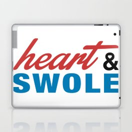 Heart & Swole Laptop & iPad Skin