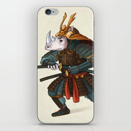 Rhino - Samurai iPhone Skin