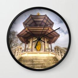 The Pagoda Battersea Park London Wall Clock