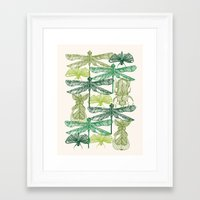 insects Framed Art Prints featuring Insects by nkpappas