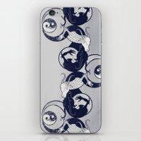 yin yang iPhone & iPod Skins featuring Yin & Yang by Charity Ryan
