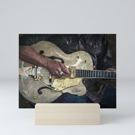 Guitar Man Mini Art Print