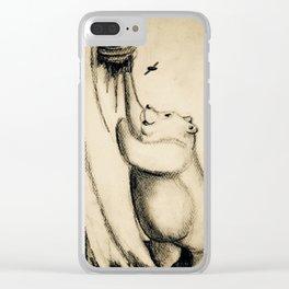 Honey Bear 2 Clear iPhone Case