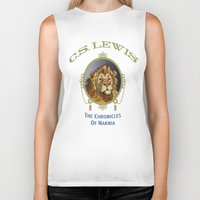 narnia Biker Tanks featuring The Chronicles of Narnia by Quigley Down Under