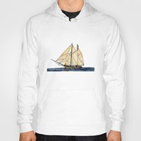 sail Hoodies featuring sail by The Traveling Catburys