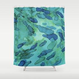 Guppy Dark Shower Curtain