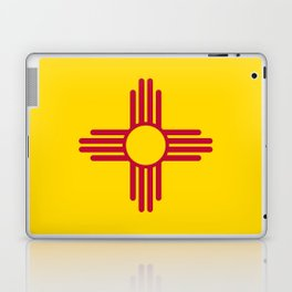 Flag of New Mexico - Authentic High Quality Image Laptop & iPad Skin