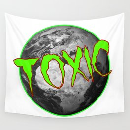 Toxic Earth Wall Tapestry