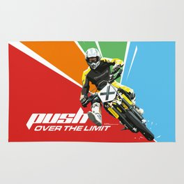 Motocross - Push Over The Limit Rug