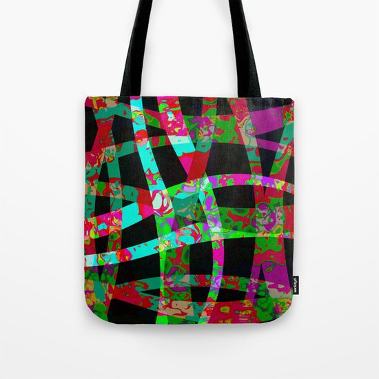 colored ribbon Tote Bag