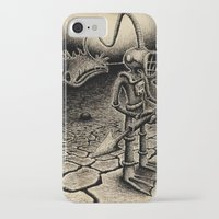 diver iPhone & iPod Cases featuring Diver by Christian Guerrero