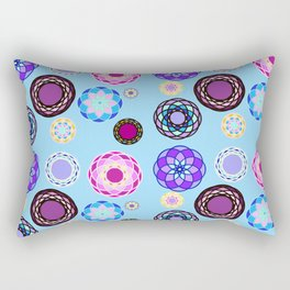 Folksy Floral Rectangular Pillow