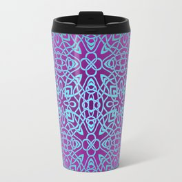 70's style Celtic Knotwork V2 Travel Mug