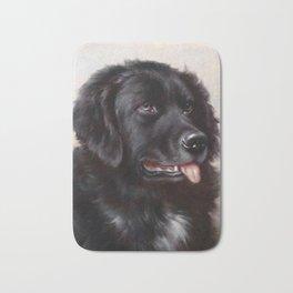 The Newfoundland Dog - Carl Reichert Bath Mat