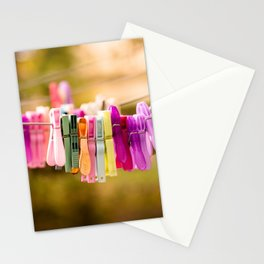 Pegged Stationery Cards