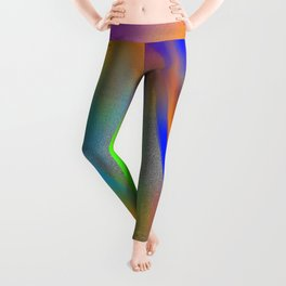 playing in sand with colours Leggings